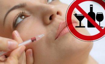 биоревитализация лица и алкоголь