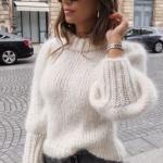 схемы свитеров спицами
