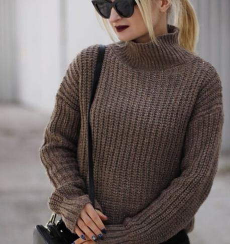 вязание свитера патентным узором